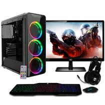 PC Gamer EasyPC Completo Monitor LED 19.5