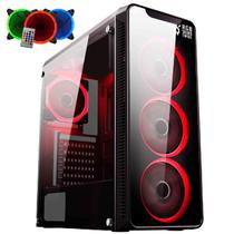 PC Gamer EasyPC FirstBlood AMD A10 4-Core 3.8Ghz (Radeon R7 2GB) 8GB DDR4 3TB HDMI Áudio HD 7.1 500W