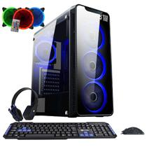 PC Gamer EasyPC FirstBlood AMD A10 4-Core 3.8Ghz (Radeon R7) 8GB DDR4 500GB HDMI 500W Kit Gamer