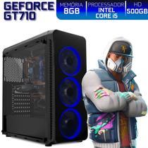 PC Gamer EasyPC Ready Intel Core i5 8GB HD 500GB Nvidia Geforce GT710 2GB HDMI Full HD -
