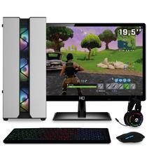 "PC Gamer EasyPC Z221650-2 Intel Core i5 3.40Ghz 8GB (Radeon RX 580 8GB) HD 1TB 500W com Monitor 19,5"" e Kit Gamer completo -"