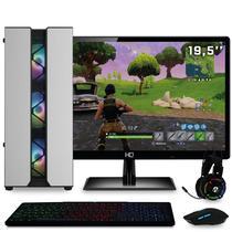 "PC Gamer EasyPC Z22VG8-2 Ryzen 3 3200G 4.0Ghz 8GB (Radeon VEGA 8) HD 1TB 500W com Monitor 19,5"" e Kit Gamer completo -"