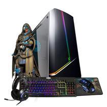 Pc Gamer Eros Intel i7 GTX 1660 6GB 16GB DDR3 Hd 1TB SSD 480GB Wi-fi -