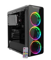 PC Gamer Fighter Intel Core i3 4GB HD 500GB (Geforce GT 1030 2GB) Fonte 500W Gabinete Gamer RGB EasyPC