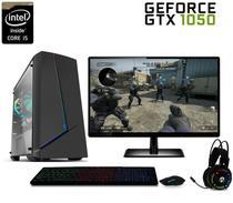 PC Gamer FoXPC XH2GTX2G Full HD Intel Core i5 8GB (Geforce GTX 1050 2GB) 1TB Kit Gamer Monitor LED HDMI -
