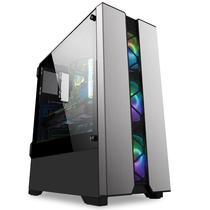 PC Gamer FullHD Intel 8ª Geração Geforce GTX 1050 2GB e SSD e HD 2TB 8GB DDR4 500W 80 Plus FOXPC - Easypc