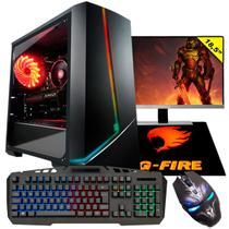"Pc Gamer G-Fire Completo Htgw-448 Intel G5400 8Gb (Radeon Rx 550 2Gb) SSD 120Gb 18"" Windows 10 -"