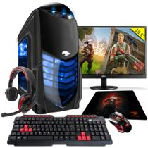 PC Gamer G-FIRE htg-307 AMD A6 7400K 8GB (Radeon R5 2GB Integrada) 1TB monitor 18,5
