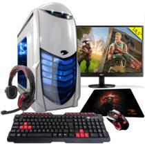 PC Gamer G-FIRE htg-308 AMD A6 7400K 8GB (Radeon R5 2GB Integrada) 1TB monitor 18,5