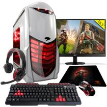 Pc Gamer G-Fire Htg-310 A8 9600 8Gb (Radeon R7 2Gb Integrada) 1Tb Monitor 18,5