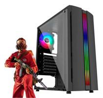 PC Gamer i5 4ª, 8GB RAM, GT 710, HD 500GB+SSD 120GB, LED - Chip7 Informática