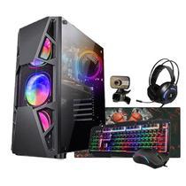 Pc Gamer i7 Gtx 1050 16 Gb Hd 1Tb Ssd 120Gb Fonte 750w Wi-Fi - Amorim Shop