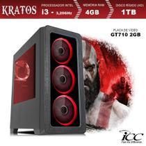 PC Gamer ICC KT2342S Intel Core I3 3,20 Ghz 4GB 1TB GT710 2GB HDMI FULL HD -