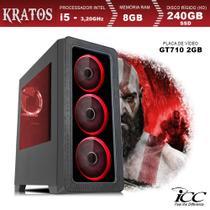 PC Gamer ICC KT2587S Intel Core I5 3,20 Ghz 8GB 240GB SSD GT710 2GB HDMI FULL HD -