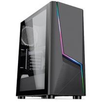 PC Gamer Intel 10a Geração Core i3 10100F, Geforce GTX 1050 Ti 4GB, 8GB DDR4 3000MHZ, SSD 480GB, 500W 80 Plus, Skill Extreme -