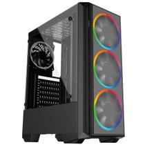 PC Gamer Intel 10a Geração Core i5 10400F, Geforce GTX, 8GB DDR4 2666MHZ, HD 1TB, SSD 120GB, 500W, Skill PCX -