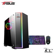 PC Gamer Intel Core I5 2,9Ghz 9ªGeração 8GB DDR4 120GB SSD 1TB Asus Geforce Dual GTX 1650 4GB DDR6 Teclado e Mouse Game - Icc
