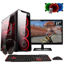 Pc Gamer Intel Core i5 8GB HD 1TB Geforce GTX 1050 Ti 4GB DDR5 com Monitor 21,5 Full HD EasyPC