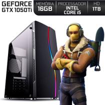 PC Gamer Intel Core i5 RAM 16GB Nvidia Geforce GTX 1050 Ti 4GB HD 1TB EasyPC Expert -