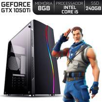 PC Gamer Intel Core i5 RAM 8GB Nvidia Geforce GTX 1050 Ti 4GB SSD 240GB EasyPC Expert - Skill Gaming