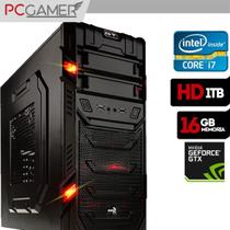 Pc Gamer Intel Core i7 4790 16GB Ram Vídeo GTX 1060 3GB HD 1TB - Alfatec