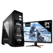 PC Gamer Intel Core i7 7700 GTX 1060 Monitor 144Hz 1ms 24 GN246HL Display Port 8GB 1TB EasyPC