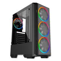 PC Gamer Intel i3 9100F Geforce GTX 1050 Ti 4GB RAM 8GB DDR4 SSD 240GB 500W 80 Plus Skill Gaming Prodigy -
