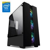 PC Gamer Intel Xeon E5-2620 6-Core 8GB DDR4 Geforce GTX 1050 Ti 4GB SSD 120GB HD 1TB Skill X99 500W -