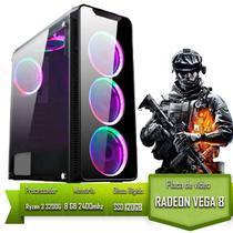 Pc gamer jogos do momento ultima geração amd ryzen 3 / 8gb memoria / ssd 120gb - Alligator Gaming