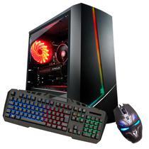 Pc Gamer Kit G-Fire Htgw-455 Intel G5400 8Gb (Geforce GTX 1050 Ti) SSD 120Gb Windows 10 -