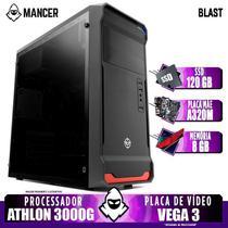 PC Gamer Mancer, AMD Athlon 3000G, 8GB DDR4, SSD 120GB, 400W -