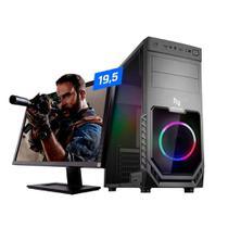 Pc Gamer Neologic NLI82346 AMD Ryzen 3 (Placa de vídeo Radeon VEGA 8) 8GB DDR4, SSD 120GB 400W 80 PLUS + Monitor 19,5 -