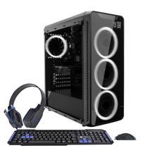 PC Gamer Roda Tudo Intel i5 8GB GTX 1050 2GB SSD 480GB - 3Green