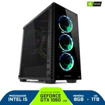 Pc Gamer Smart Pc SMT81138 Intel i5 8GB (GeForce GTX 1060 6GB) 1TB - Neologic