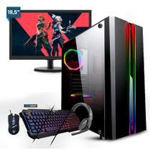 PC Gamer Smart PC SMT81942 Intel i5 8GB (RX 550 4GB) 1TB + Monitor 19,5 -