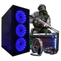 Pc Gamer Thargon Core i5 GPU RX 460 4GB 8GB Hd 500GB + SSD 160GB + Wi-fi - Intel