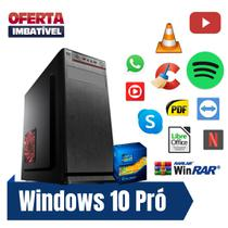 Pc Intel Core i5 4gb Ram SSd 240gb Win10 - Gravador de DVd. - Star