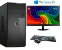 "PC + Monitor 15,6"" + Mouse e Teclado 5Tech i5, 8Gb, HD500Gb, Windows 10 PRO 2019 +  WIFI - 5 techpc"