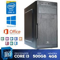 Pc Para Escritorio Cpu Core I3 4gb Ddr3 Gabinete C/ Garantia - Yesstech