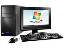PC SIM F135WR VIA C7-D 1,8 GHz - 2GB 160GB LCD 15 Grava DVD Windows 7