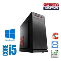 Pc Smart Intel Core i5 4gb SSd 480gb Win10 Pró, Gravador DVD - Star