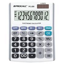 Pc255 - calculadora de mesa 12 dig - Procalc