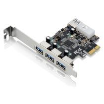 PCI  3portasFrontais+1PortaTraseira - Multilaser