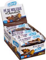 PÉ DE MOLEQUE COM CHOCOLATE ZERO - 24UNX25g - Duprata