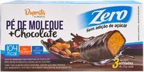 PÉ DE MOLEQUE COM CHOCOLATE ZERO - 3UNX25g - Duprata