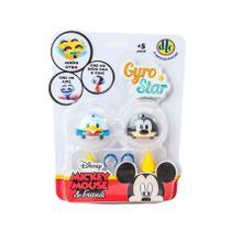 Peão Disney Gyro Star Donald e Pateta - DTC -