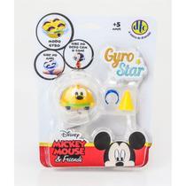 Peão Disney Pixar Gyro Star Pluto - DTC -