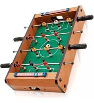 Pebolim Totó Futebol De Mesa 10x31x51cm Bolas E Placar Jogo - Sanxia