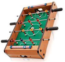 Pebolim Totó Futebol Mesa Portátil 12 Jogadores 2 Bolas e Placar - Redstar