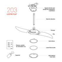 Peça para Reposição Modelo 203 - Tangerina - Spirit